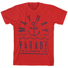 Mayday Parade - Anchored (Red) [入荷予約商品]