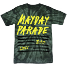Mayday Parade - Lines (Green Tie Dye) [入荷予約商品]