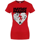 Mayday Parade - Torn Heart (Red) [girl's] [入荷予約商品]