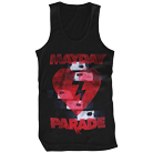 Mayday Parade - Heart Logo (Tank Top) [入荷予約商品]