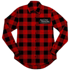 Mayday Parade - Plaid Logo (Red/Black) (Plaid Shirt) [入荷予約商品]