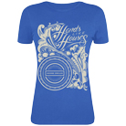Hands Like Houses - Flowery (Royal Blue) [girl's] [入荷予約商品]