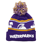 Waterparks - Grenade (Purple/Yellow) (Pom Beanie) [入荷予約商品]