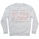 Fit For A King - Neon (Heather Grey) (Sweat) [入荷予約商品]