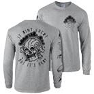 WSTR - Skull (Heather Grey) (Long Sleeve) [入荷予約商品]