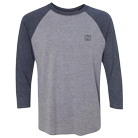 Tesseract - Cube (Heather Grey) (Embroidered) (Baseball) [入荷予約商品]