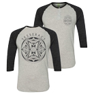 Tesseract - Spatial (Tri-Heather Grey/Black) (Henley) (Baseball) [入荷予約商品]