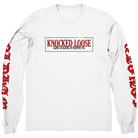 Knocked Loose - Dead Ringer (White) (Long Sleeve) [入荷予約商品]