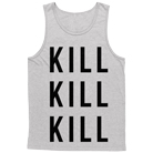 I Declare War - Kill Kill Kill (Heather Grey) (Tank Top) [入荷予約商品]