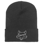 Emarosa - Fox Head (Charcoal) (Beanie) [入荷予約商品]