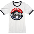 The Summer Set - For President (White With Navy) [入荷予約商品]