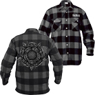 Sworn In - Flower (Grey/Black) (Flannel Shirts) [入荷予約商品]