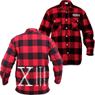 Sworn In - Nails (Red/Black) (Flannel Shirts) [入荷予約商品]