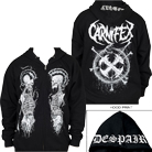 Carnifex - Despair (Zip Up Hoodie) [入荷予約商品]