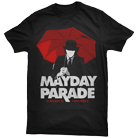 Mayday Parade - A Lesson In Romantics Umbrella Man (Black) [入荷予約商品]
