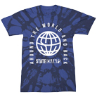 State Champs - Global (Blue Bleach Dye) [入荷予約商品]