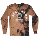 State Champs - Arch (Bleached) (Long Sleeve) [入荷予約商品]