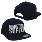 Make Them Suffer - Logo (Navy) (Snapback) [入荷予約商品]