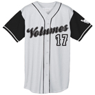 Volumes - 17 Logo (Black/White) (Baseball Shirts) [入荷予約商品]