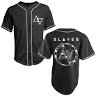 Slaves - Black Floral (Baseball Shirts) [入荷予約商品]