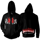 Hatebreed - Become Empowered (Zip Up Hoodie) [入荷予約商品]