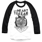 My Heart To Fear - Mountain (White/Black) (Baseball) [入荷予約商品]