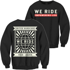 We Ride - United Hardcore (Sweat) [入荷予約商品]