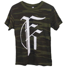 Fit For A King - Logo (Camo) [入荷予約商品]