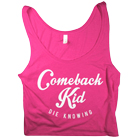 Comeback Kid - Script (Red) (Crop Top) [入荷予約商品]