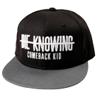 Comeback Kid - Strikethrough (Black/Grey) (Snapback) [入荷予約商品]