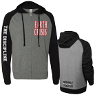Earth Crisis - The Discipline (Black/Gray) (Zip Up Lightweight)