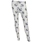 The Color Morale - Anchor Bird (White) (Leggings) [入荷予約商品]