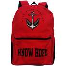 The Color Morale - Know Hope (Red/Black) (Backpack) [入荷予約商品]