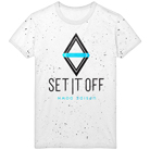 Set It Off - Upside Down (White/Black Splatter) [入荷予約商品]