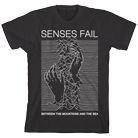 Senses Fail - Mountains & Sea (Black) [入荷予約商品]
