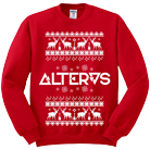 Alteras - Xmas (Red) (Sweat) [入荷予約商品]