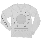 Northlane - Gravity (White) (Long Sleeve) [入荷予約商品]