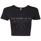The Word Alive - Logo (Crop Top) [入荷予約商品]