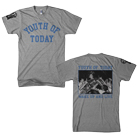 Youth Of Today - Wake Up And Live (Heather Grey) [入荷予約商品]