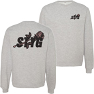 Stick To Your Guns - Rose Initials (Heather Grey) (Sweat) [入荷予約商品]