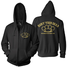 Bury Your Dead - Brass Knuckles (Zip Up Hoodie) [入荷予約商品]