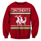 Continents - Reindeer (Red) (Sweat) [入荷予約商品]