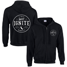 Ignite - California (Black) (Zip Up Hoodie) [入荷予約商品]