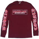 Knocked Loose - Dead Ringer (Maroon) (Long Sleeve) [入荷予約商品]