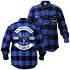 The Funeral Portrait - Est. 2014 Atlanta, GA (Blue/Black) (Flannel Shirts) [入荷予約商品]