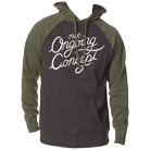 The Ongoing Concept - Script Logo (Charcoal Heather/Army) (Hoodie) [入荷予約商品]