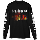 He Is Legend - Flames (Long Sleeve) [入荷予約商品]