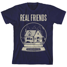 Real Friends - Snow Globe (Navy) [入荷予約商品]