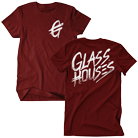 Glass Houses - Logos (Maroon) [入荷予約商品]