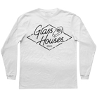 Glass Houses - Coffin (White) (Long Sleeve) [入荷予約商品]